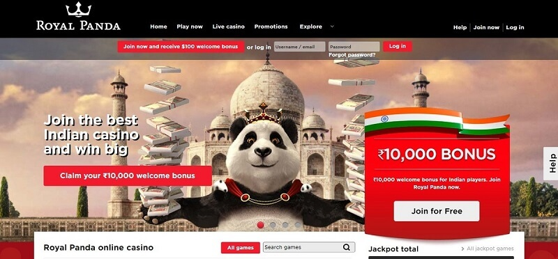 Royal-Panda-welcome-offer