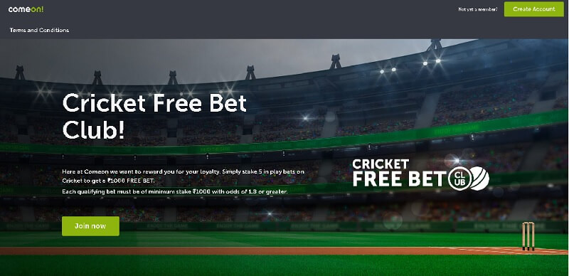 comeon-cricket-free-bet-club