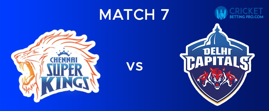 CSK vs DC Match Report 7