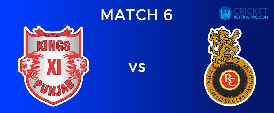 KXIP vs RCB Match Report 6