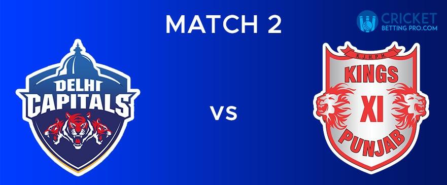 DC vs KXIP – Match Report 2