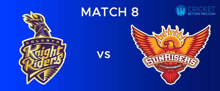 KKR vs SRH Match Report 8