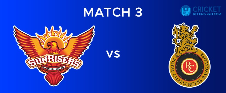 SRH vs RCB – Match Report 3