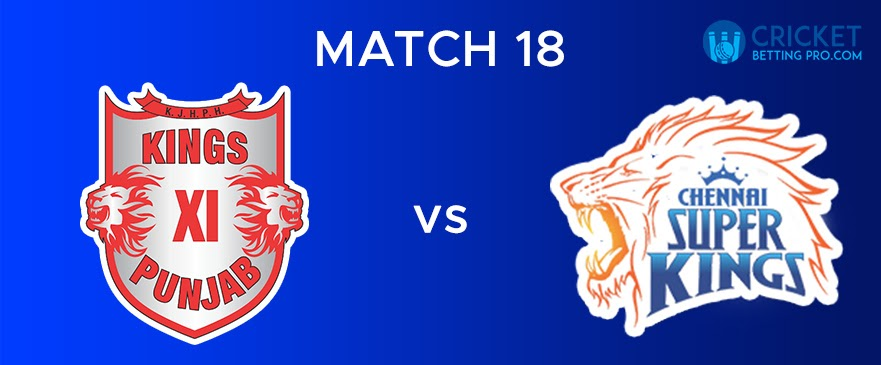 KXIP vs CSK Match Report 18