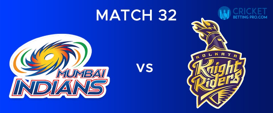 MI vs KKR Match Report 32