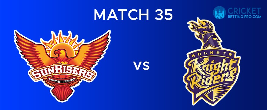 SRH vs KKR  Match Report 35