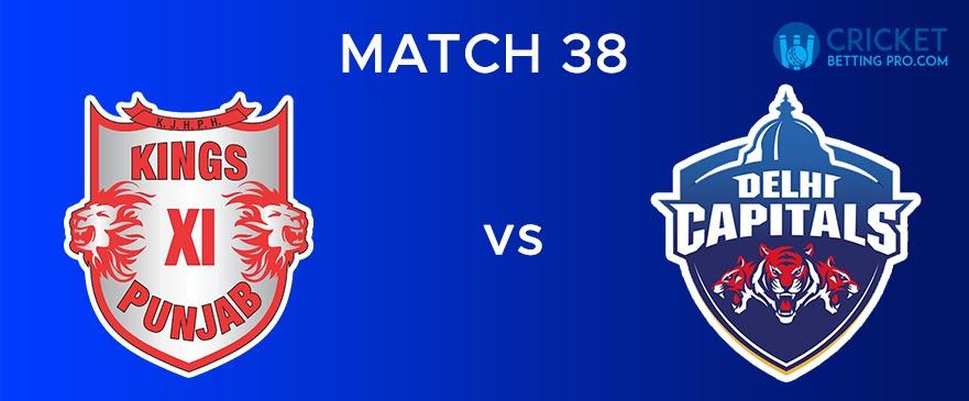 KXIP vs DC  Match Report 38