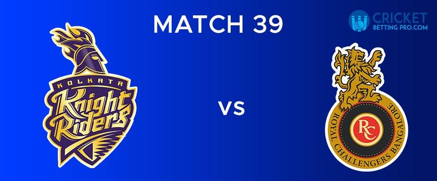 KKR vs RCB Match Report 39