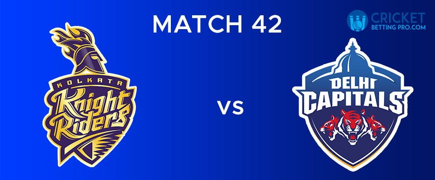 KKR vs DC  Match Report 42