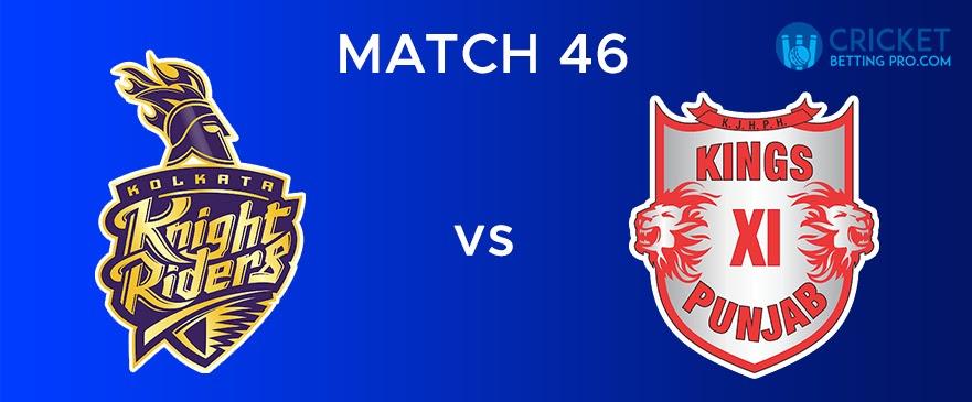 KKR vs KXIP  Match Report 46