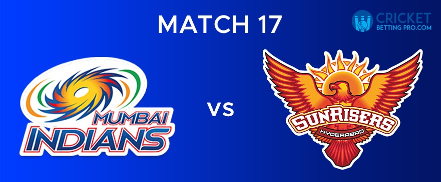 MI vs SRH Match Report 17