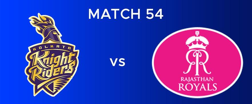 KKR vs RR Match Report 54