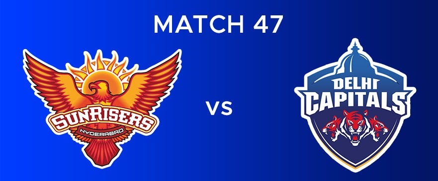 SRH vs DC  Match Report 47