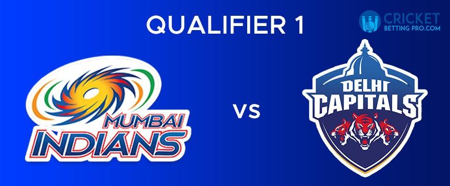 MI vs DC Qualifier 1- Match Report