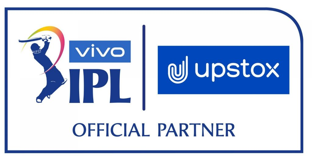 BCCI ANNOUNCES UPSTOX AS OFFICIAL PARTNER FOR IPL