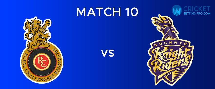 RCB vs KKR – Match Report 10