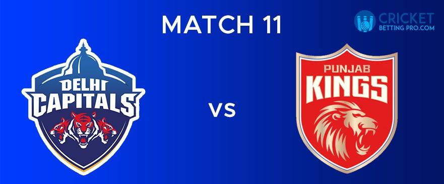 DC vs PBKS – Match Report 11