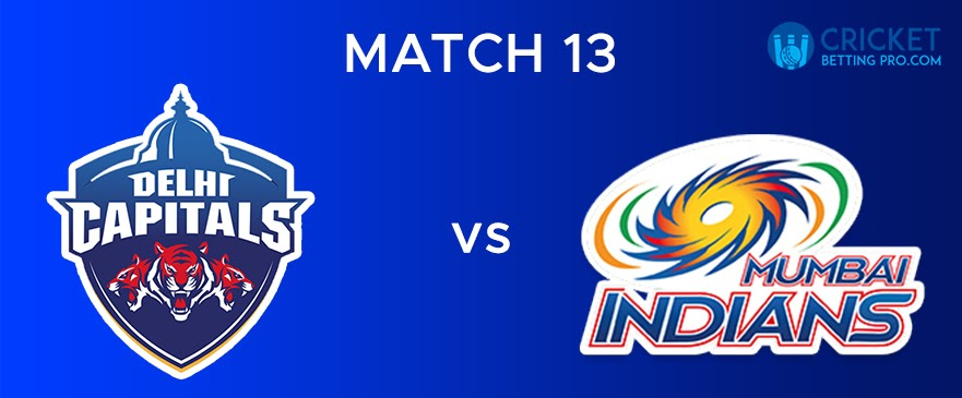 MI vs DC – Match Report 13