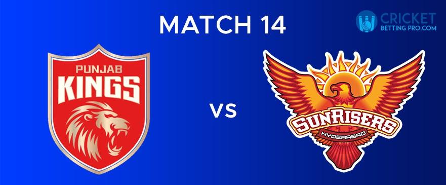 PBKS vs SRH – Match Report 14