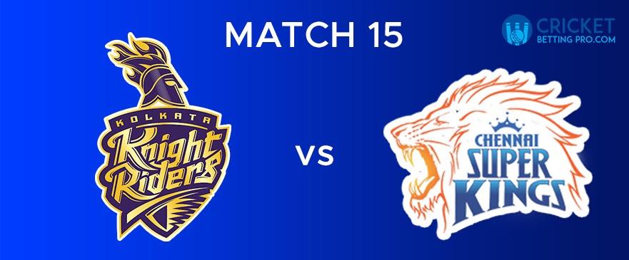 CSK vs KKR – Match Report 15