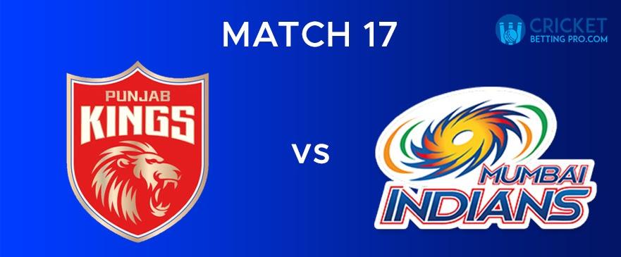 MI VS PBKS – Match Report 17