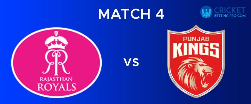 RR VS PBKS – Match Report 4