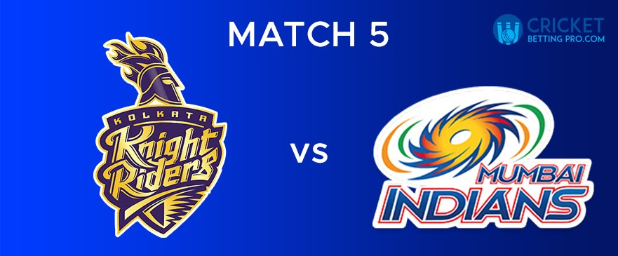 KKR VS MI – Match Report 5