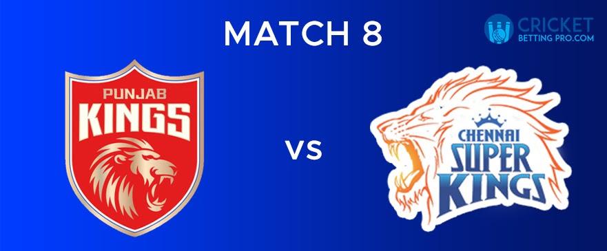 PBKS Vs CSK – Match Report 8