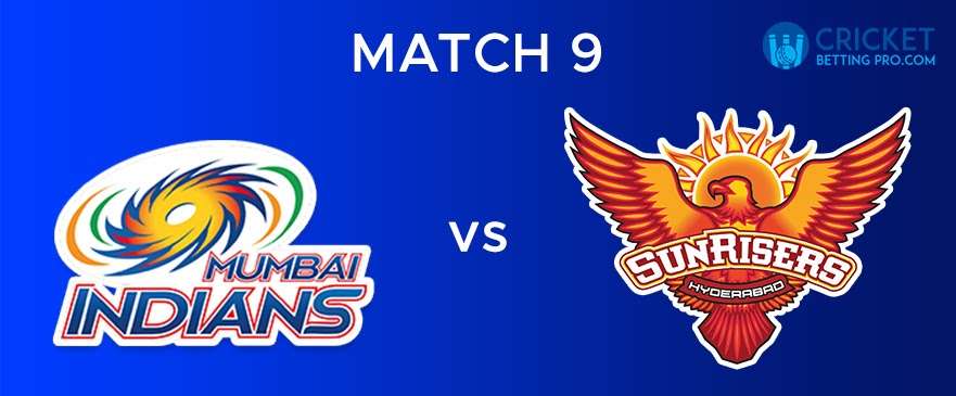 MI vs SRH – Match Report 9