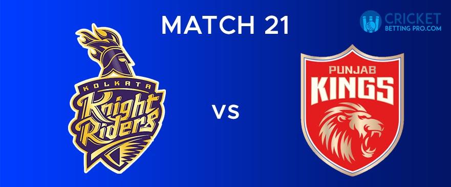 KKR vs PBKS – Match Report 21