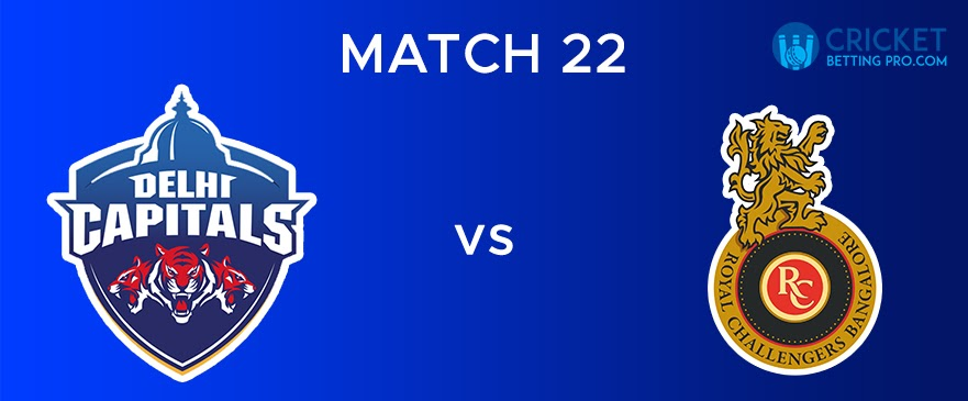 DC vs RCB – Match Report 22