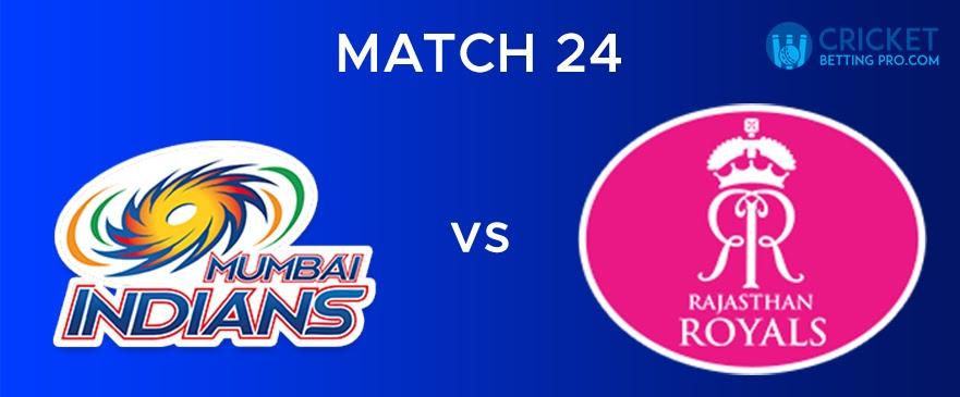 RR vs MI – Match Report 24