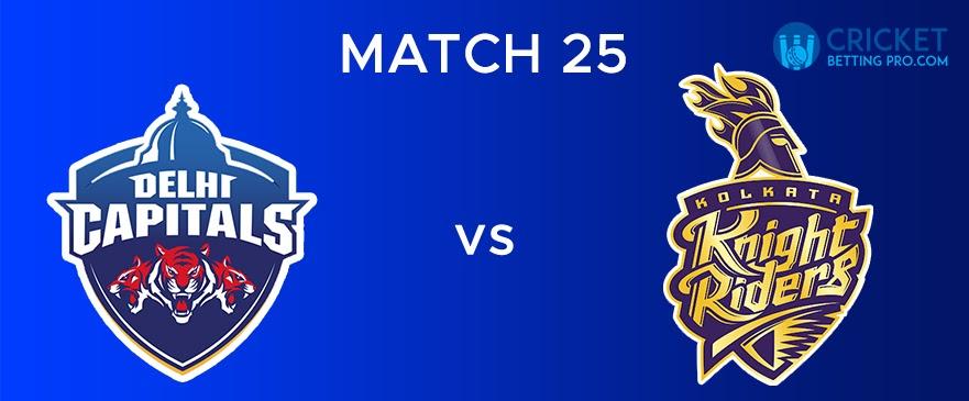KKR vs DC – Match Report 25