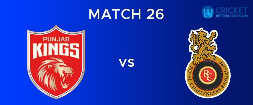 PBKS vs RCB – Match Report 26