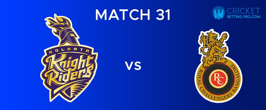 KKR Vs RCB – Match Report 31