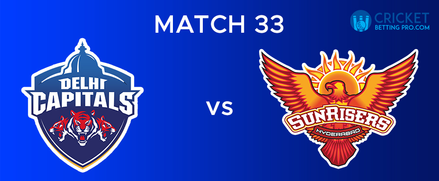 DC vs SRH – Match Report 33