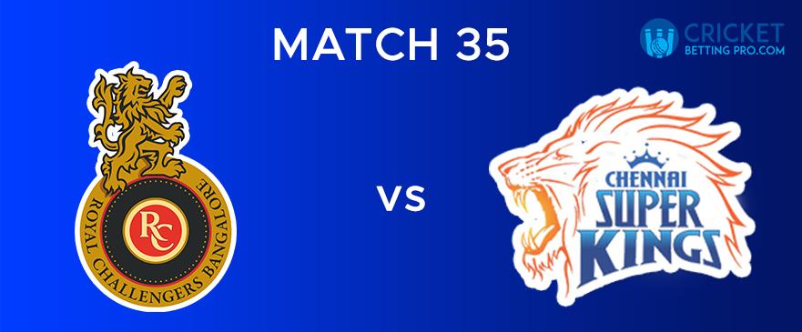RCB vs CSK – Match Report 35