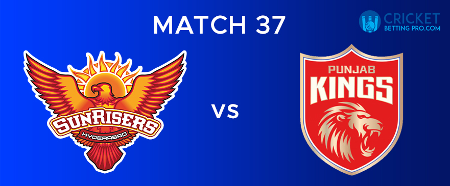 SRH vs PBKS – Match Report 37